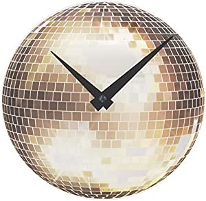 Nextime Little Disco Glass Table/ Wall Clock