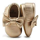 OOSAKU Chaussures pour bébés garçon Chaussures pour bébés Bottillons Souples avec Bowknot