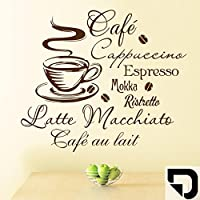 Suchergebnis Auf Amazon De Fur Wandtattoo Kaffee Mokka Kuche