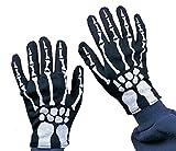 Rubie's Offizielle Kinder-Skelett-Handschuhe für Halloween, Einheitsgröße
