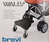 Brevi Wally Footboard for Buggy or Pram (Black)