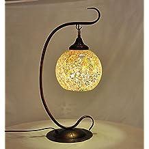 FDH Das Mediterrane Café Bar Lampen Continental Eisen Jugendstil  Schlafzimmer Lampen, 53 * 21 Cm