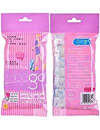 Junlinto - 7 Bragas Desechables de algodón para Embarazadas, Pantalones Cortos de posparto prenatal, Large