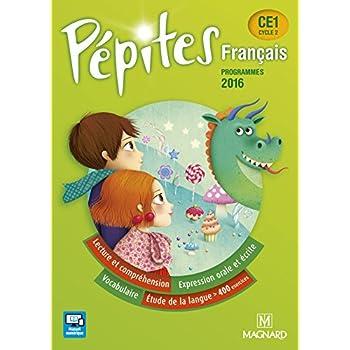 Français CE1 Pépites : Programmes 2016