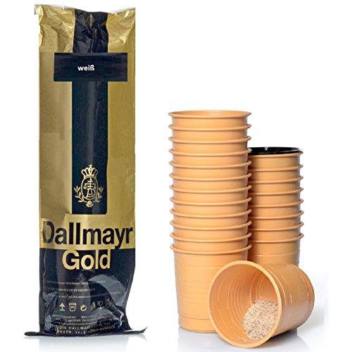 Dallmayr Incup Kaffee - weiß 300 Becher á 7,6g