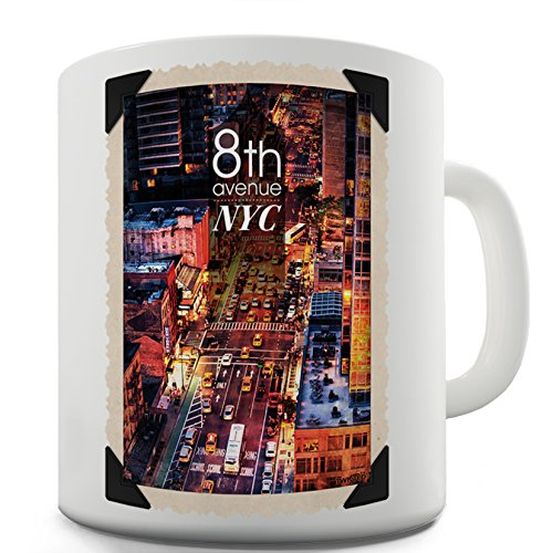 Lustige Kaffee Tasse Becher 8th Avenue NYC Ceramic Office Coffee Tea Mug - Nyc-kaffee-tasse