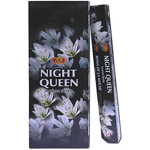 120 varillas de incienso Night Queen aroma fragancia ambientador