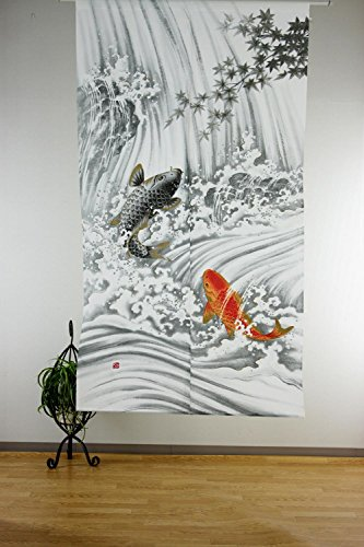 Narumi narumikk noren cortina japonés Ukiyo-e Cascada