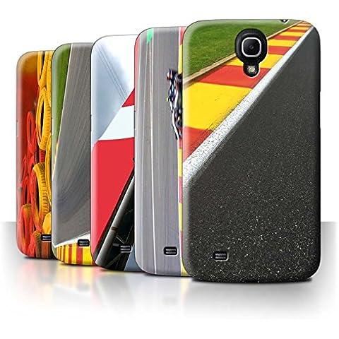 Carcasa/Funda STUFF4 dura para el Samsung Galaxy Mega 6.3 / serie: Pista Carreras Foto - 5pcs Paquete