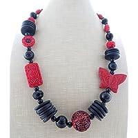cd33fd398717 Amazon.es  Collares Piedras  Handmade