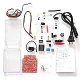 DIY-elektronische kit Nieuwe LM317 Verstelbare DC-voeding DIY-elektronische kit Set 220V / 110V naar DC1.25-12V Voltmeter Soldeeropleiding 1 stks (Color : US)