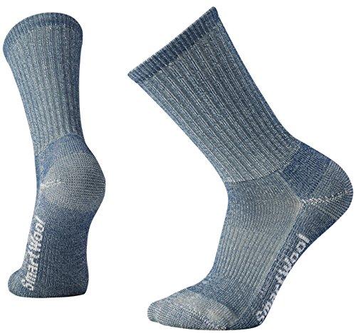 Smartwool Herren Hike Light Crew Socks, Blau (Denim), M -