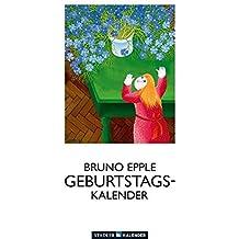 Bruno Epple: Immerwährender Geburtstagskalender