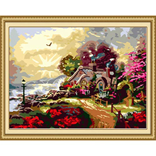 WACYDSD Puzzle 1000 Pezzi Puzzle 3D Fairy Land Landscape Fai da Te Modern Wall Art Picture for Home Wall Artwork