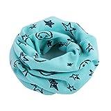 BBsmile Intimo di inverno del scialle della sciarpa della ragazza del ragazzo della sciarpa del cotone del bambino (Blu)