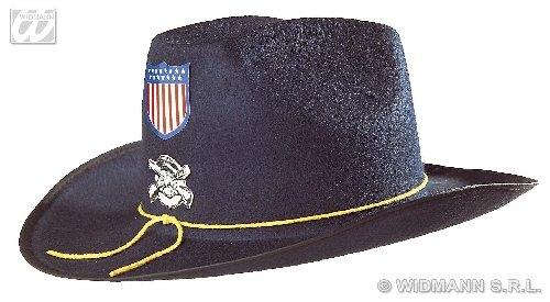 WIDMANN wdm2540b Yankee-Kostüm für Erwachsene mit Mantel, Filzmütze, Blau, Einheitsgröße
