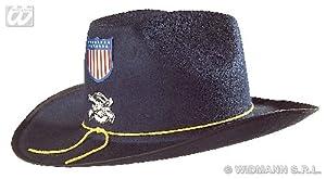 WIDMANN wdm2540b?Disfraz para adultos nordista con perchero sombrero de fieltro, azul, talla única