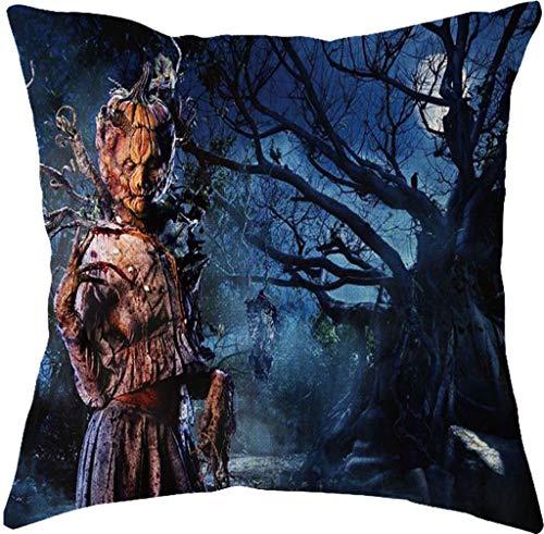 en Kissenbezug, Spirit of Halloween Thriller Throw Kissenbezüge 100% Baumwolle Leinen Reißverschluss, Kissen Couch Kissenbezüge,F,X3 ()