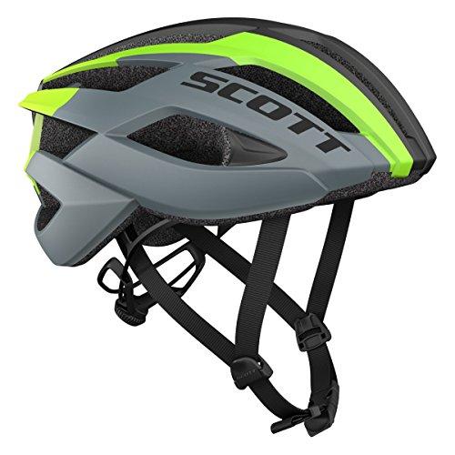 Scott Arx MTB Fahrrad Helm grau/grün 2018: Größe: M (55-59cm)