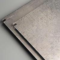 IDE PLC450 Placa De Montaje, Acero galvanizado, lisas