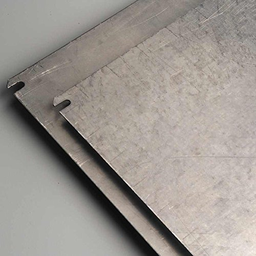 IDE plc450Montageplatte, Stahl verzinkt, glatt
