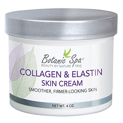 Gesicht Für Und Elastin Kollagen (Botanic Spa Kollagen und Elastin Haut Creme, 4Flüssigunze)