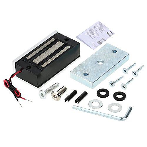 KKmoon 60kg / £ 132 Serrure de Porte électrique magnétique Fail Secure NC 12V pour Le système de contrôle d'accès de Porte d'entrée