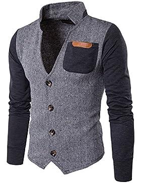 Hombre Clásico Button Cotton Cotton Chaquetas Botón Jacket Sportswear