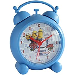 Joy Toy 90323 13 cm Minions Plastic Clock in Gift Wrap
