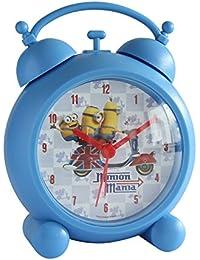 Joy Toy Minions Wecker aus Plastik Analog 13 cm in Geschenkpackung 90323