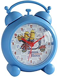 Joy Toy Minions despertador de plástico analógicamente 13 cm en caja de regalo 90323