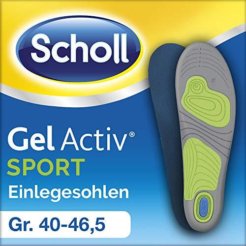Scholl GelActiv Einlegesohlen Sport, Größe 40-46,5, 1 Paar