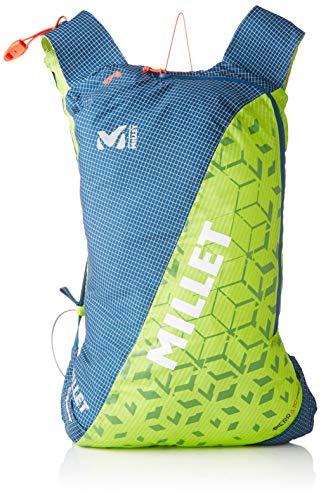MILLET Pierra SPRINT10 Rucksack, Ski, Wandern, Unisex, Erwachsene, grün/Poseidon, Einheitsgröße, Einheitsgröße