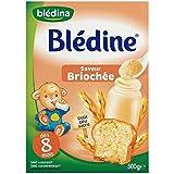 Blédina blédine saveur briochée 500g dès 8 mois - ( Prix Unitaire ) - Envoi Rapide Et Soignée