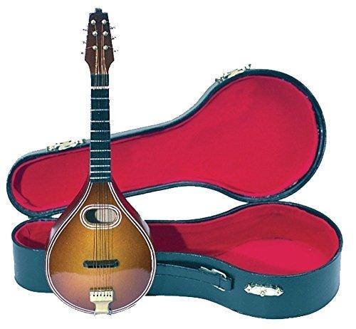 Gewa 980640 Miniature Strumento Musicale Mandolino con Astuccio,  15 cm