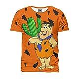 Noorhero T-Shirt Herren - Flintstones