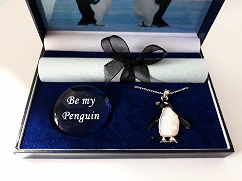 pebblez and penguinz Pinguin Geschenk-Box Kaiser Kiss -