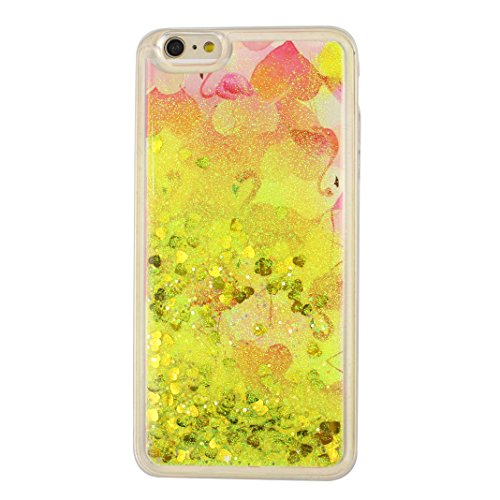 Hülle iPhone 7 Treibsand Schale 4.7 Zoll, iPhone 7 Slimcase, Moon mood® Color Gradient Überzug Plating Case für Apple iPhone 7 Durchsichtige Handyhülle 3D Creative Case Mode Bunten Transparente Krista Stil 24