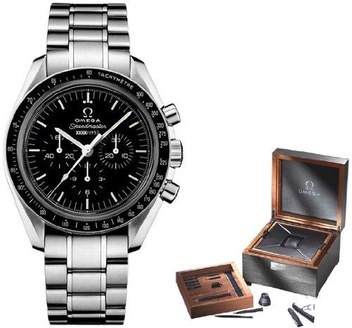 Omega 311.33.42.50.01.001 Speedmaster Herren-Armbanduhr, limitierte Auflage zum 50. Jahrestag