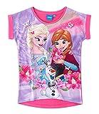 Disney Die Eiskönigin Elsa & Anna Mädchen T-Shirt - pink - 140