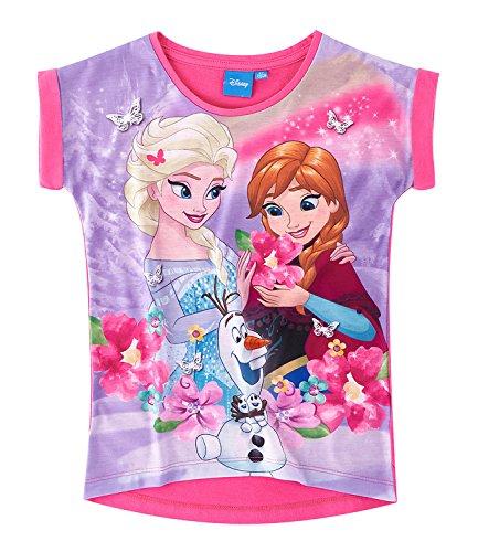 blau Disney Die Eisk/önigin Elsa /& Anna M/ädchen T-Shirt und Rock