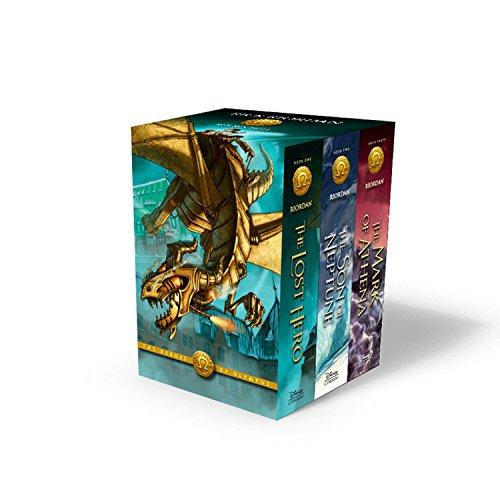 Buchseite und Rezensionen zu 'The Heroes of Olympus Paperback 3-Book Boxed Set' von Rick Riordan