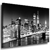 Bilder Kunstdrucke / Boikal / Leinwand Bild mit Keilrahmen New York 100x70 cm xxl.610