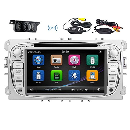 Doppia Due Din 7 pollici HD touch-screen lettore DVD dell'automobile