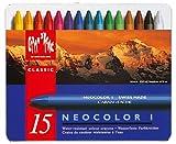 Caran D'ache Neocolor Wachs-/Öl-Kreidestifte (15Stück)