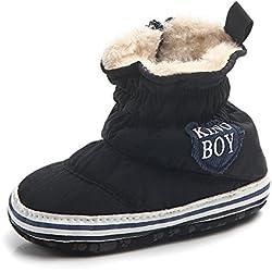 Butterme Scarpe da corsa per neonati scarpe striscianti scarpe prewalker autunno inverno caldo morbido scarpa da snowshoe scarpa morbida scarpa per neonati scarpa