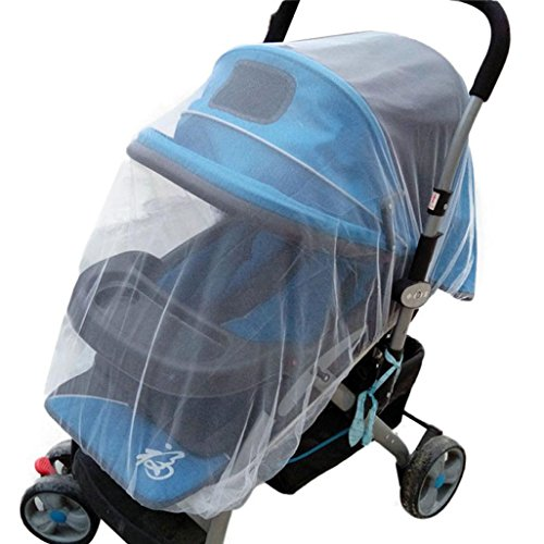 Tonsee Summer Safe Baby Carriage Insect Full Cover Mosquito Net Baby Stroller Bed Netti