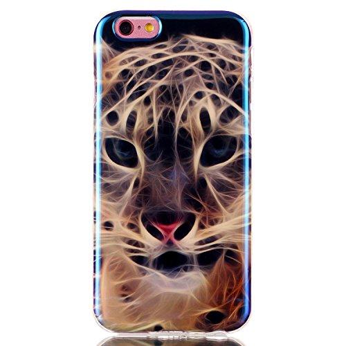 Beiuns Coque en Silicone pour Apple iPhone 6 (4.7 pouces) Housse Case - N172 Baiser me débloquer !!! N166 Tiger