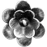Gah-Alberts 422806 Lot de 10 rosaces d'ornement en acier brut Épaisseur:1.5 mm Largeur:60 mm