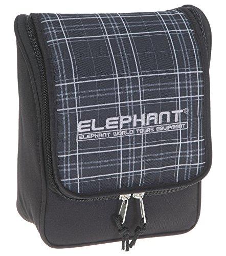 elephant-beauty-case-plaid-black-karo-nero-11955